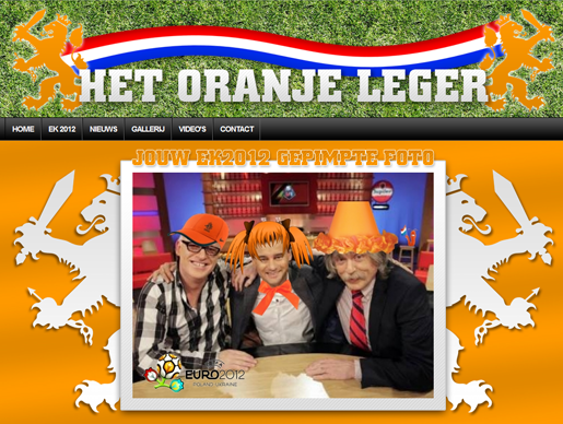 hetoranjeleger.nl